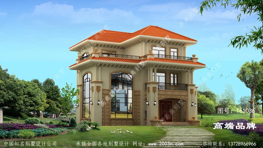 农村三层小别墅设计图