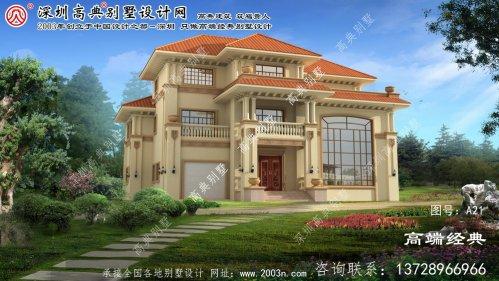 桐乡市自建别墅设计图