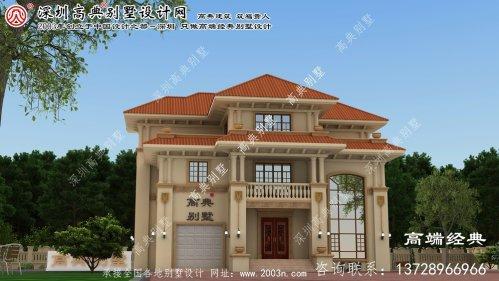 青田县欧式别墅设计图