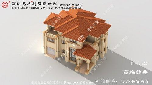 路桥区房屋三层设计图