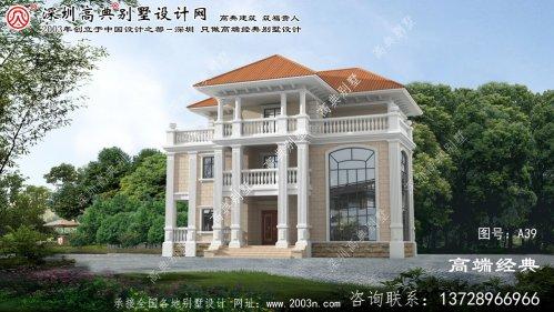 肥东县农村盖房设计大