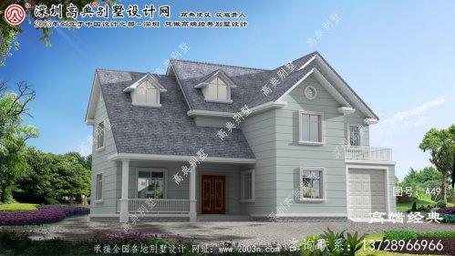 西湖区农村建房设计图