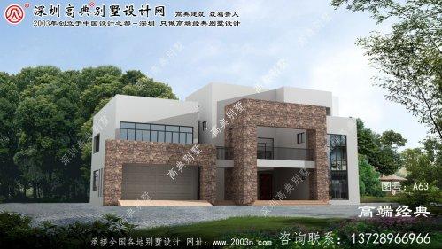 余杭区农村两房屋设计