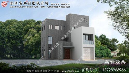 滨江区自建别墅设计图