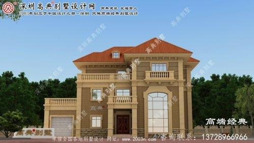 义乌市农村房屋设计图
