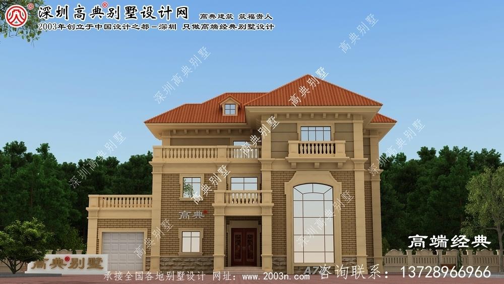 义乌市农村房屋设计图大全