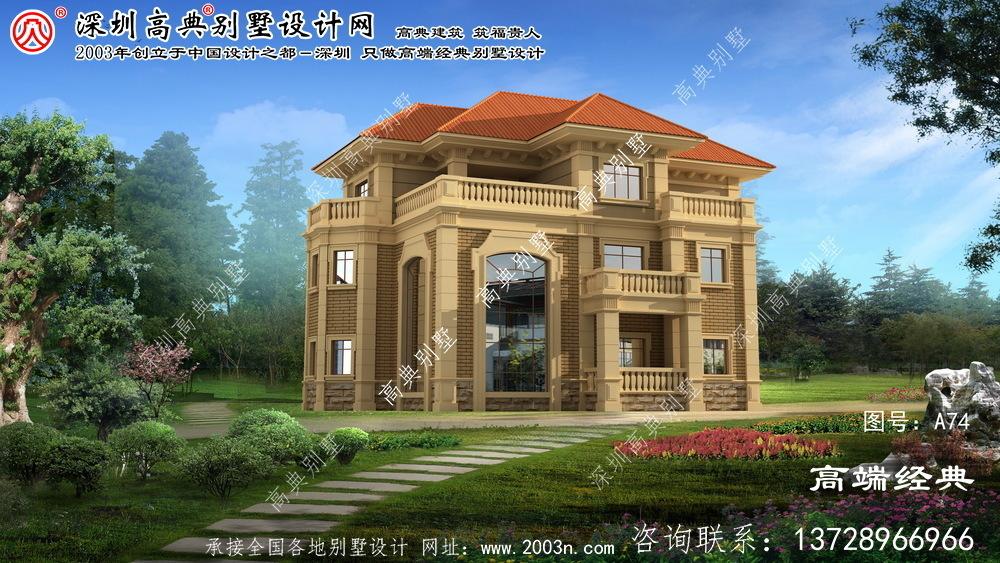 嘉善县农村住宅设计图