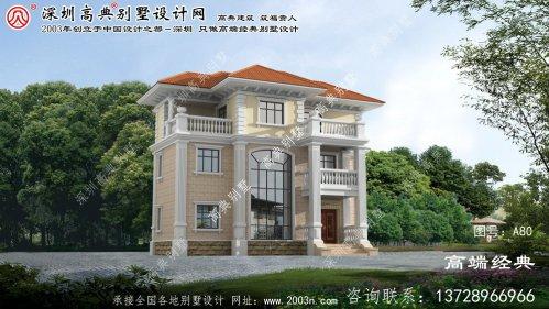 慈溪市乡村别墅设计图