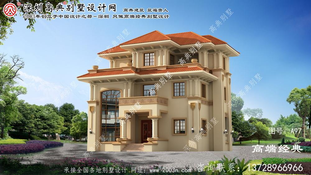 下城区农村小别墅设计图