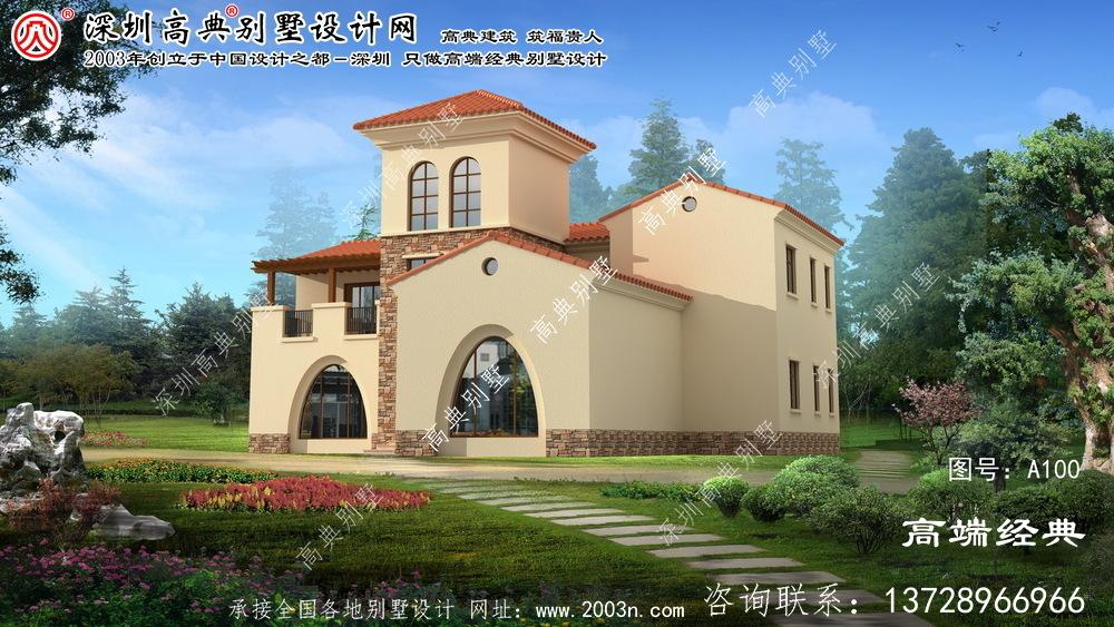 淮上区三层别墅设计图纸