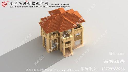 越城区三层别墅设计图
