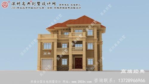 婺城区别墅外观设计效