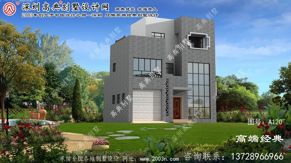 庆元县精选新农村住宅图集精选