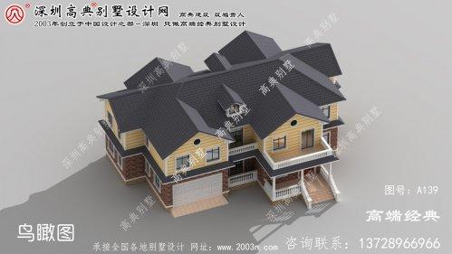 云和县农村三层半别墅