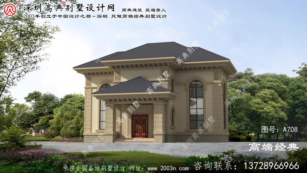 椒江区农村小别墅设计图