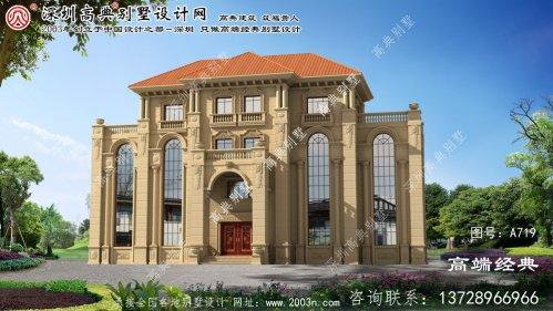 长兴县新农村别墅设计
