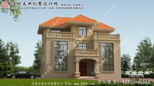 牟平区设计别墅效果图