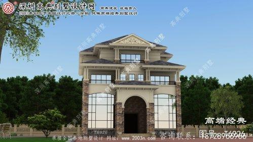 赤峰市农村小别墅设计
