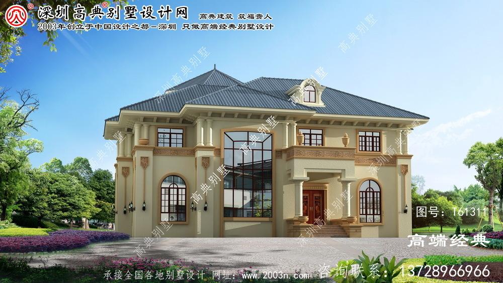 望花区两层复式别墅设计图