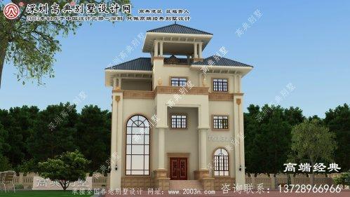 抚顺县简欧别墅设计图