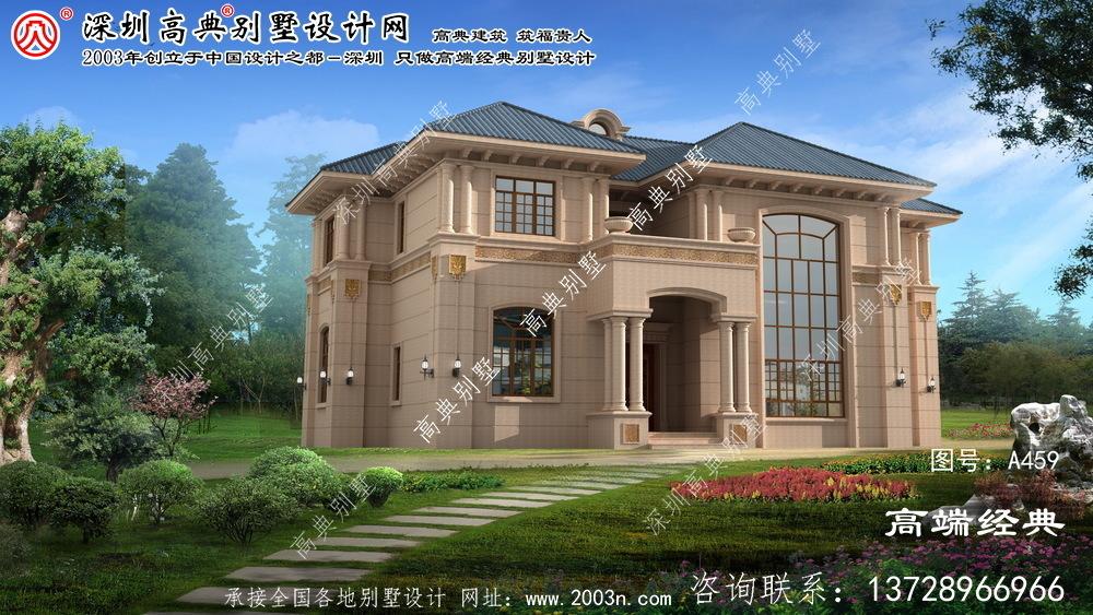 伊春区农村建房设计图纸二层楼