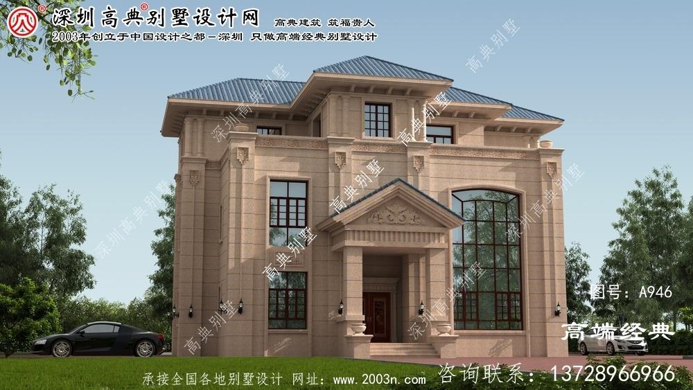 西平县农村别墅图纸设计