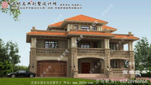 平舆县别墅建房设计图