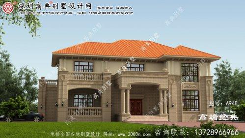 汝南县别墅建筑图下载