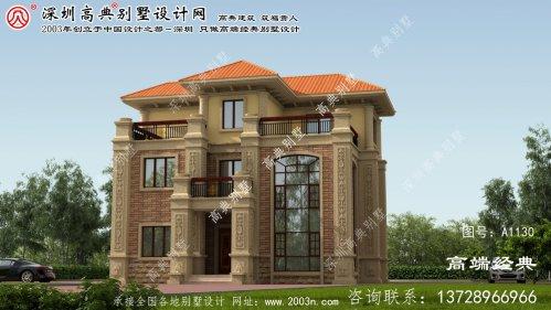 长沙市150平方三层别墅