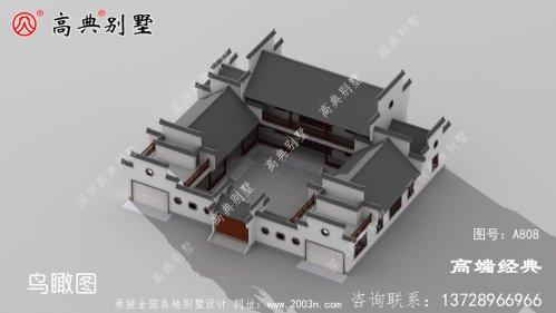 中国别墅设计图