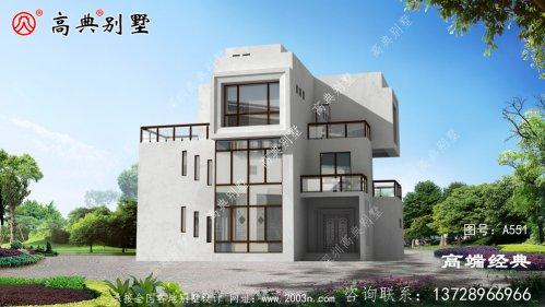 乡村三层别墅设计