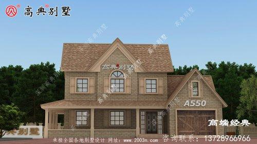 农村新建别墅,美式风
