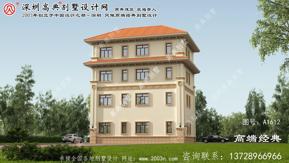 上海市简约大气,别具一格的欧式四层别墅。