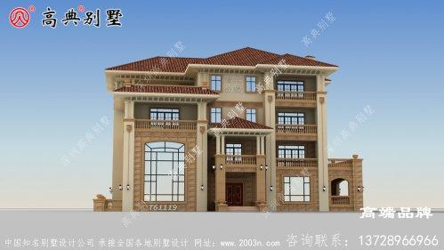 3层别墅设计图简约明朗
