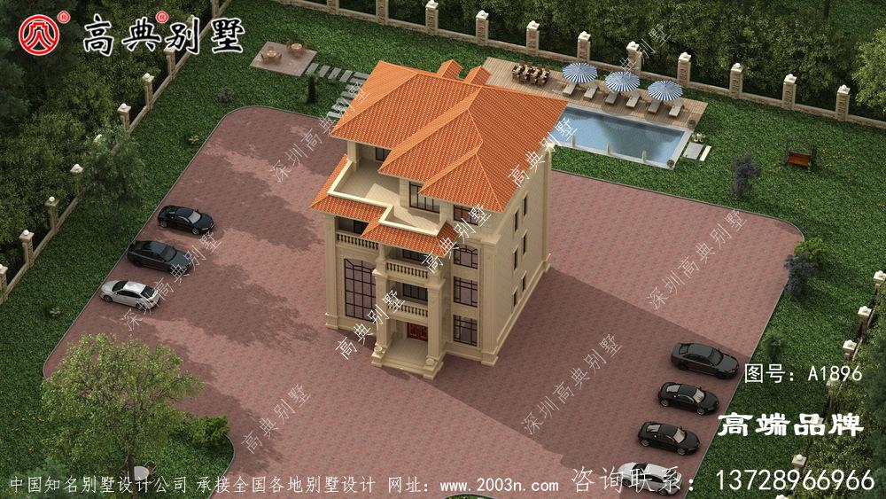 简单实用的四层楼房设计图