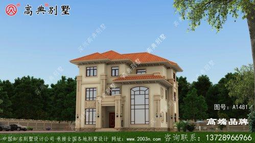 农村建房设计图二层半