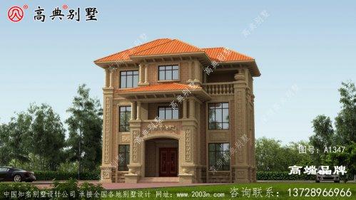 112平别墅设计色彩搭配