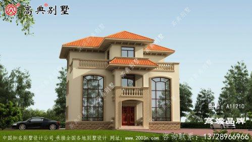 欧式小别墅设计图完全