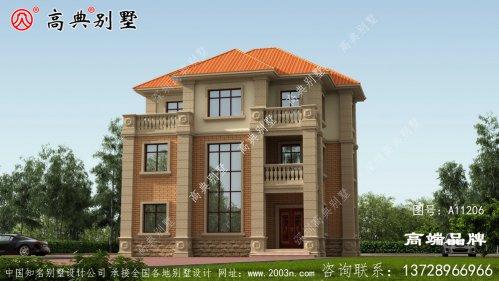 三层别墅设计图外观造