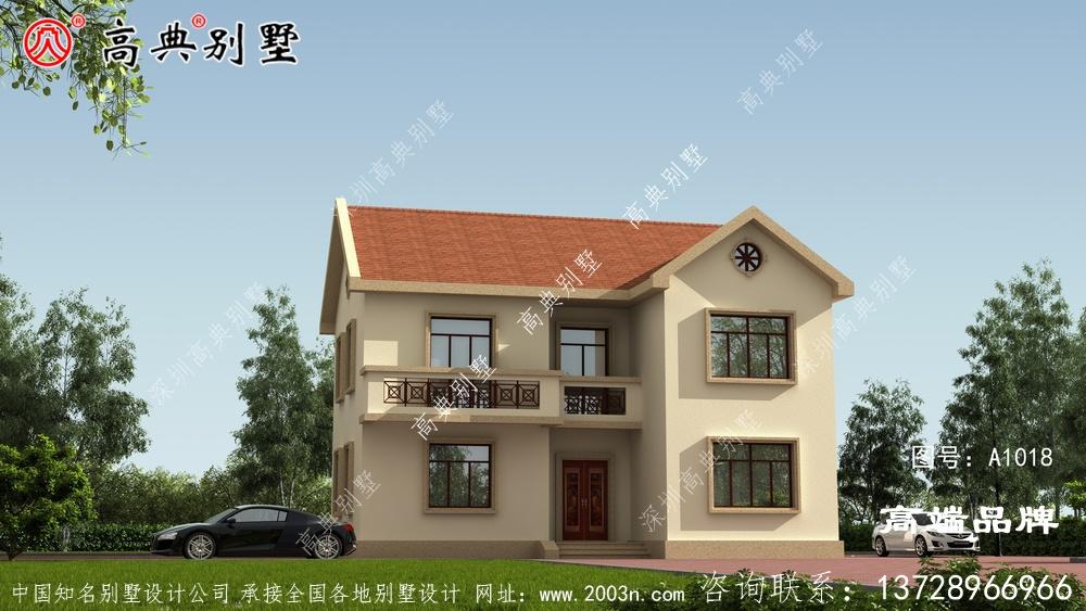 欧式2层别墅设计图空间利用率高