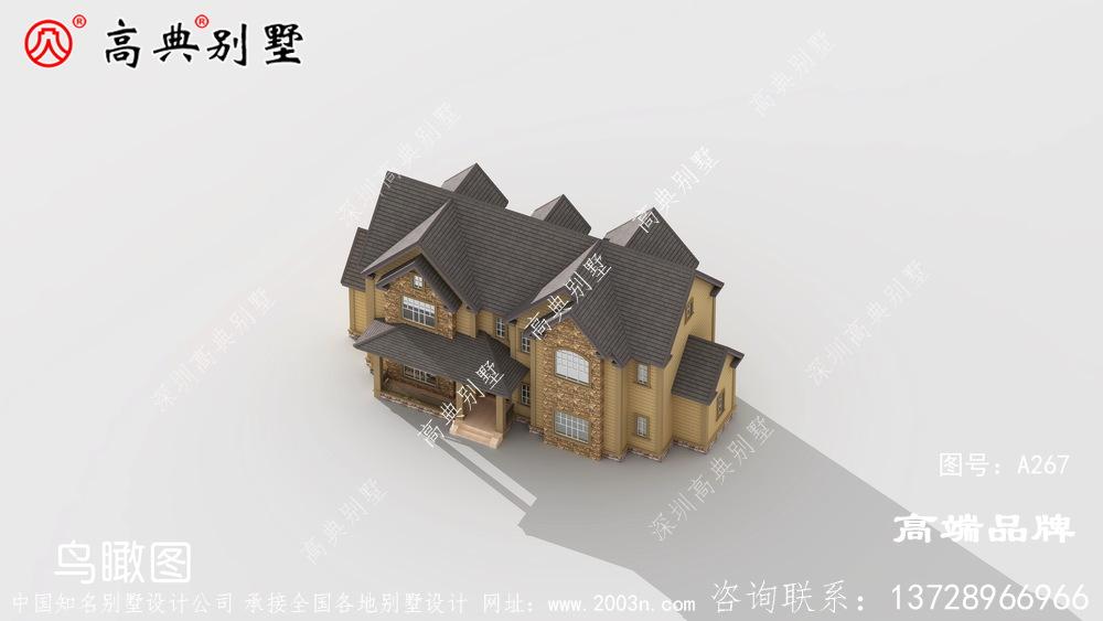 农村排房设计非常好看,不容易过时。