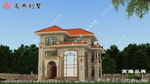 新型别墅外观效果图给