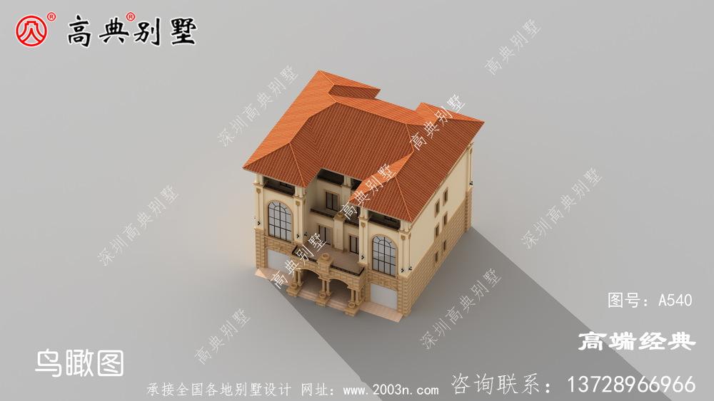 哈尔滨市农村四层新款别墅, 好看又大方,朋友都说我眼光好