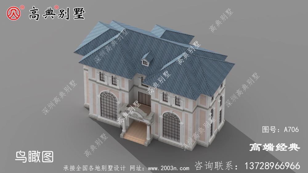 兴化市新款自建房户型图,简单实用,回乡建房的佳选