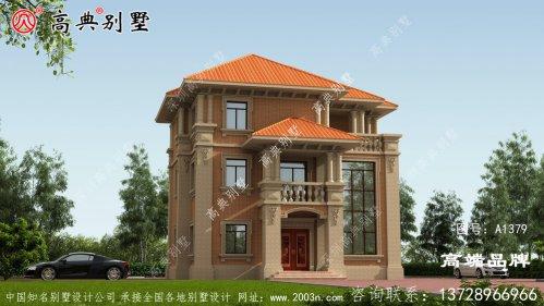 别墅建筑设计图最受农