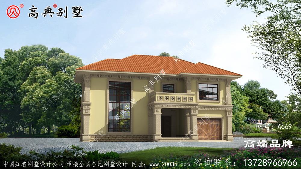 农村盖房样式赋予了建筑新的寓意