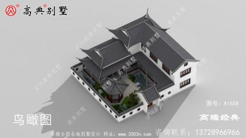 为之赞叹的中式建筑更