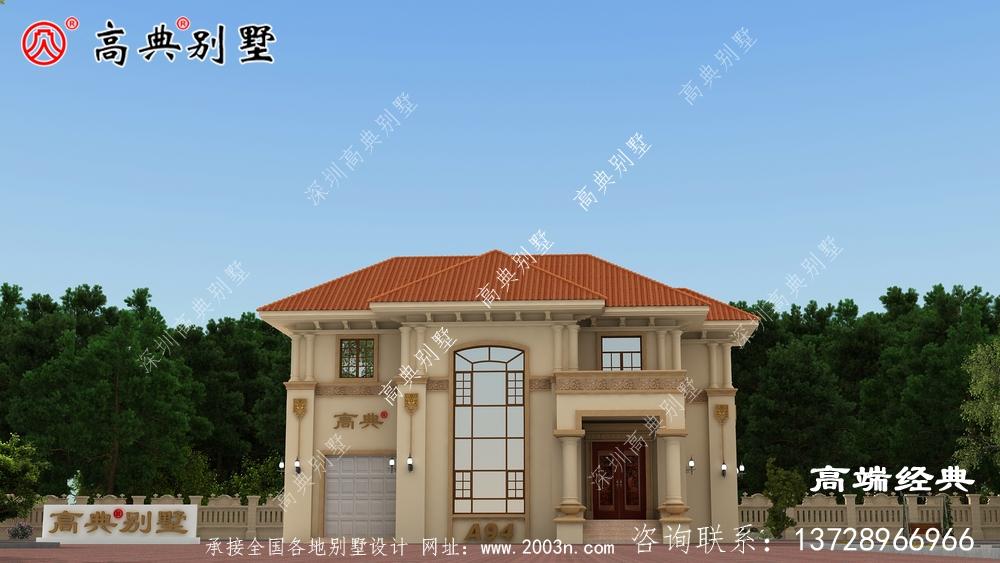 落地窗能很好的提高别墅的美观和实用性