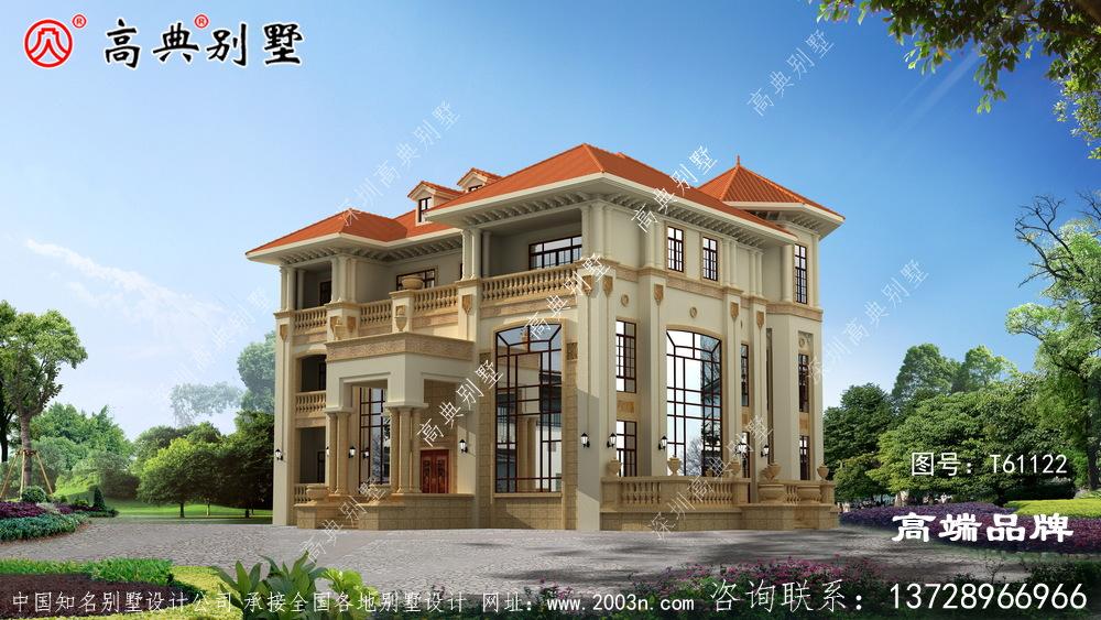 丰富了建筑的立面,增加了住宅的层次感。