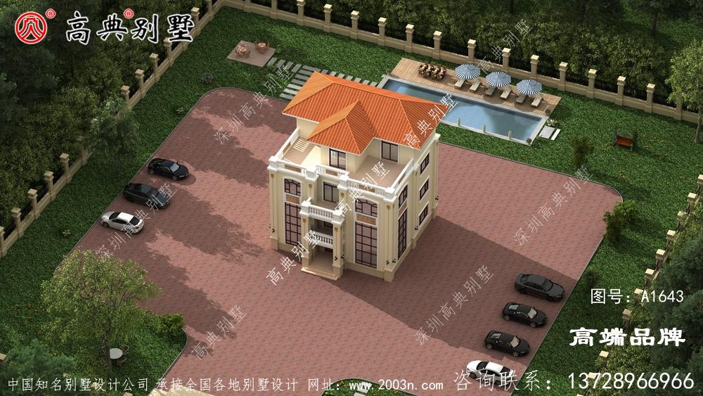这样的别墅象征着业主的成功形象